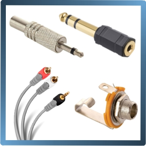 CONECTORES Y CABLES PARA AUDIO